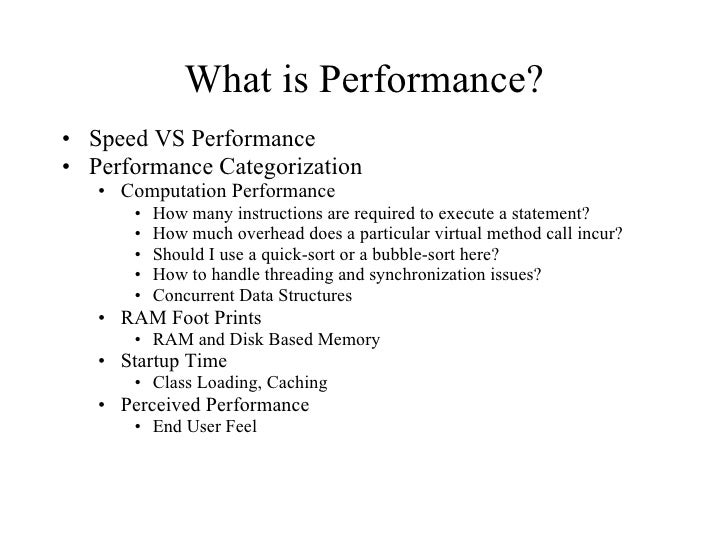 Java Performance, Threading and Concurrent Data Structures Slide 2
