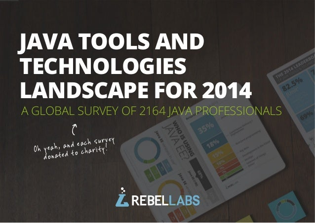 1All rights reserved. 2014 © ZeroTurnaround OÜ A GLOBAL SURVEY OF 2164 JAVA PROFESSIONALS JAVA TOOLS AND TECHNOLOGIES LAND...
