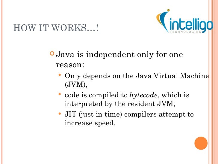 Java tutorial ppt java interpreter just in time compiler 5 toneelgroepblik Gallery