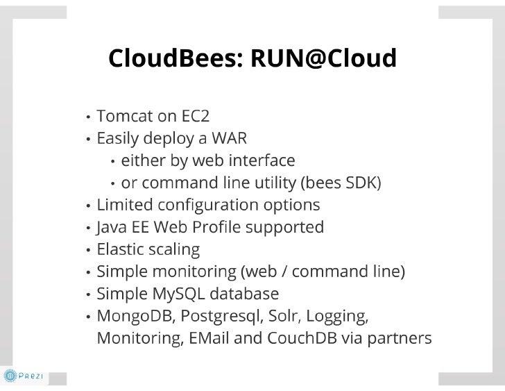 Java und Cloud - nicht nur mit PaaS