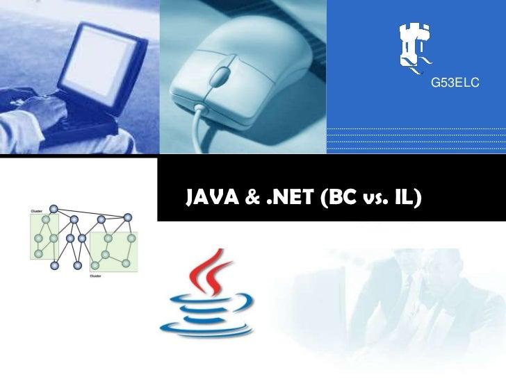 G53ELCJAVA & .NET (BC vs. IL)