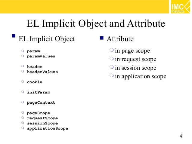 Java Web Programming [5/9] : EL, JSTL and Custom Tags