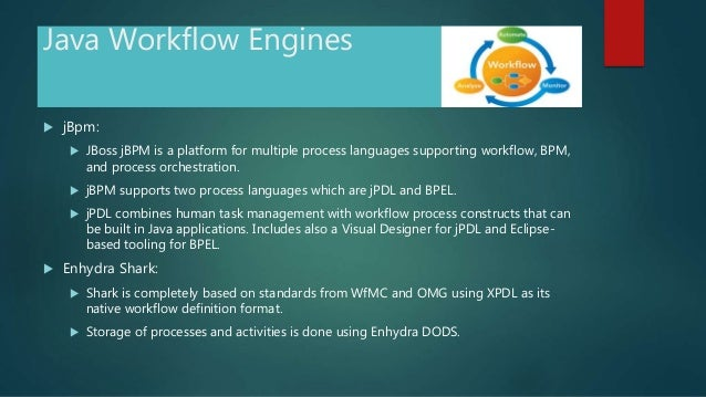 How to create simple java workflow.