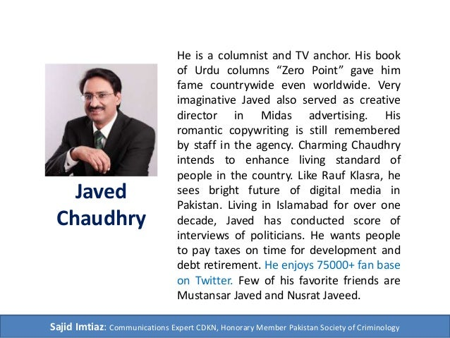 Javed chaudhry column zero point | javedchaudhry | page 10.