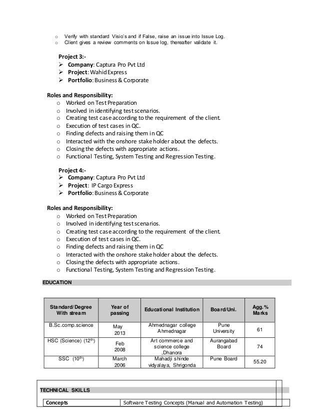 Javed sayyed resume Slide 2