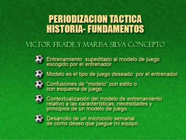 Periodización Táctica-Historia y Desarrollo
