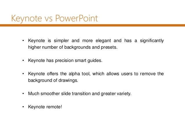 Using other presentation systems: Keynote, Prezi, etc