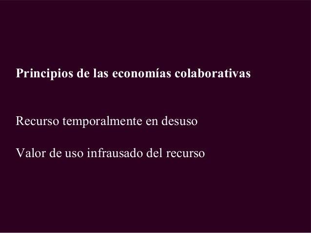 Economía colaborativa del turismo: nuevo noicho del rentismo Slide 3