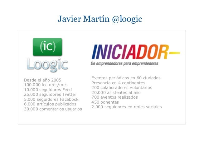 Javier Martin Consejero Startups Slide 2