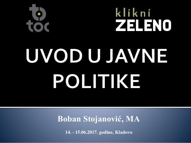 Boban Stojanović, MA 14. - 15.06.2017. godine, Kladovo