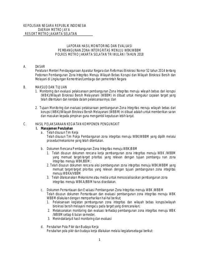 Jawaban 3 B Monitoring Dan Evaluasi Pembangunan Zi 2018