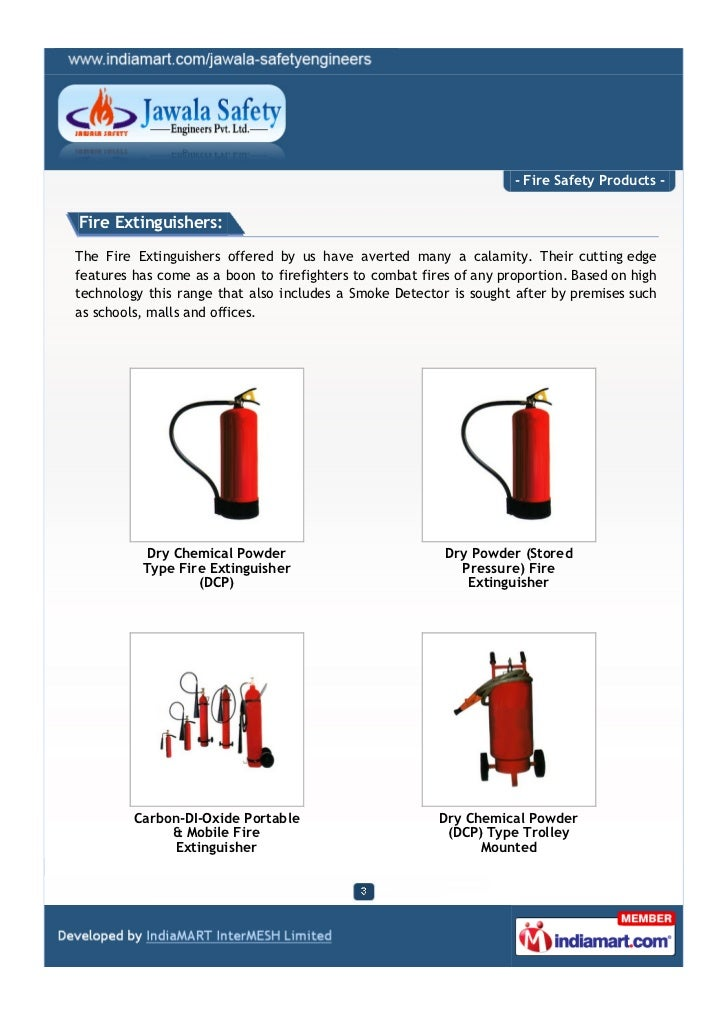 Jawala Safety Engineers Private Limited, New Delhi, Fire Safety Products Slide 3