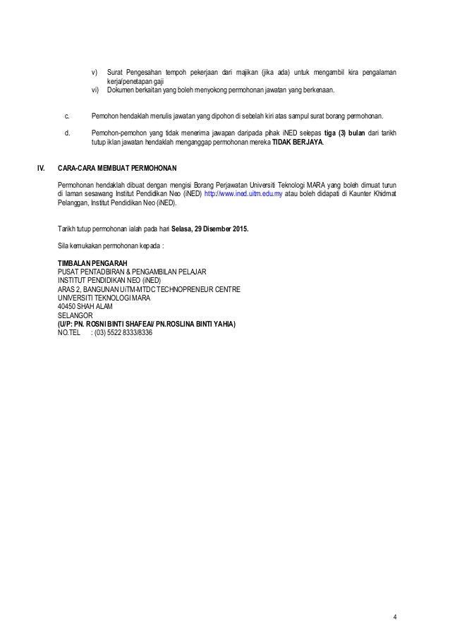 Contoh Surat Rasmi Permohonan Pemasangan Lampu Jalan - Rasmi U