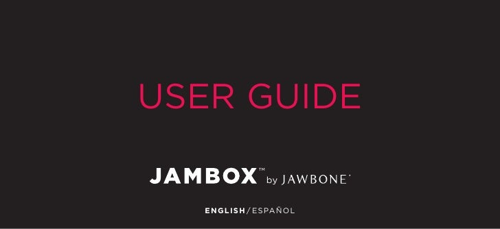 jawbone jambox manual rh slideshare net