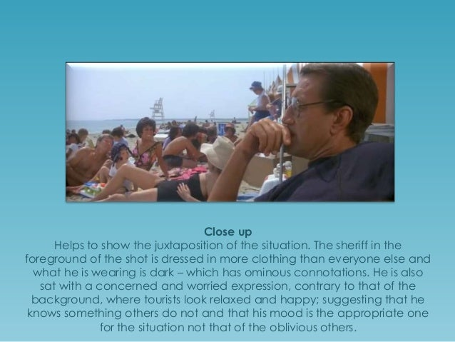 jaws analysis Jaws study guide contains a biography of director steven spielberg, literature essays, quiz questions, major themes, characters, and a full summary and analysis.