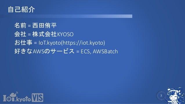 IoTとServerlessの世界 Jawsfesta_1103 Slide 3
