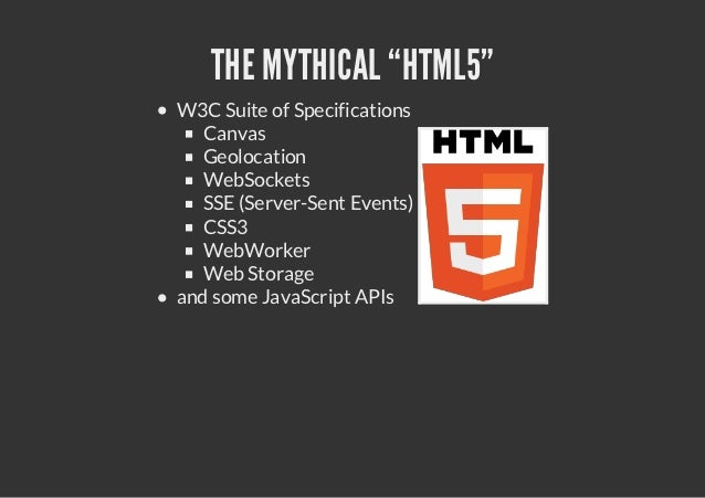 HTML5 <3 REST
