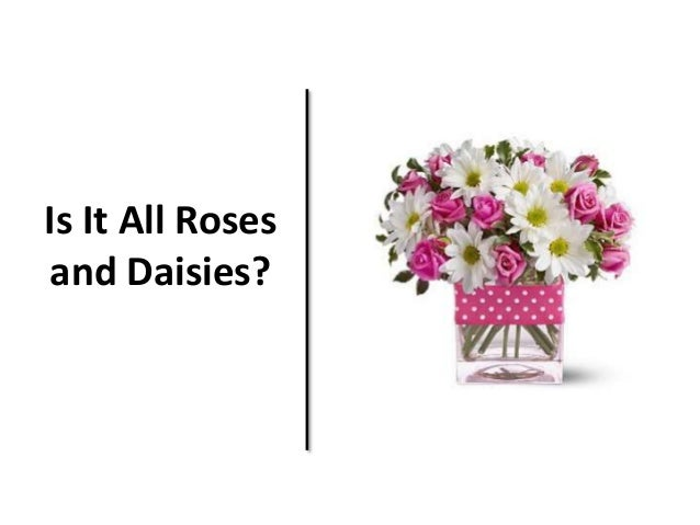 Is It All Roses  and Daisies?