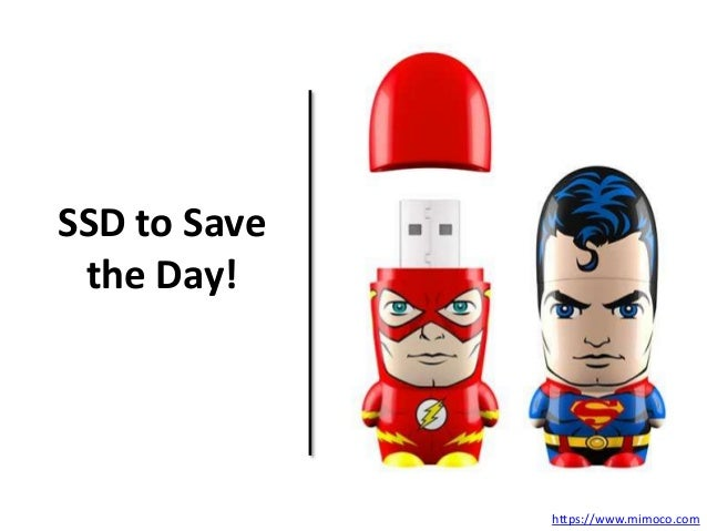 SSD to Save  the Day!  https://www.mimoco.com