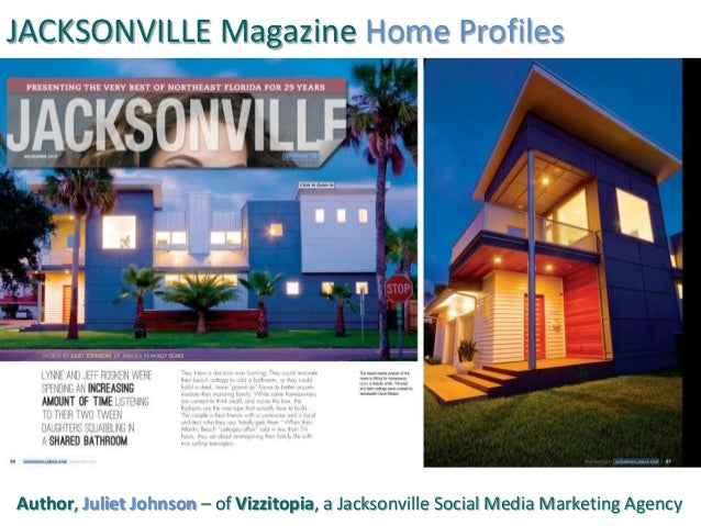 JACKSONVILLE Magazine Home Profiles Author, Juliet Johnson – of Vizzitopia, a Jacksonville Social Media Marketing Agency