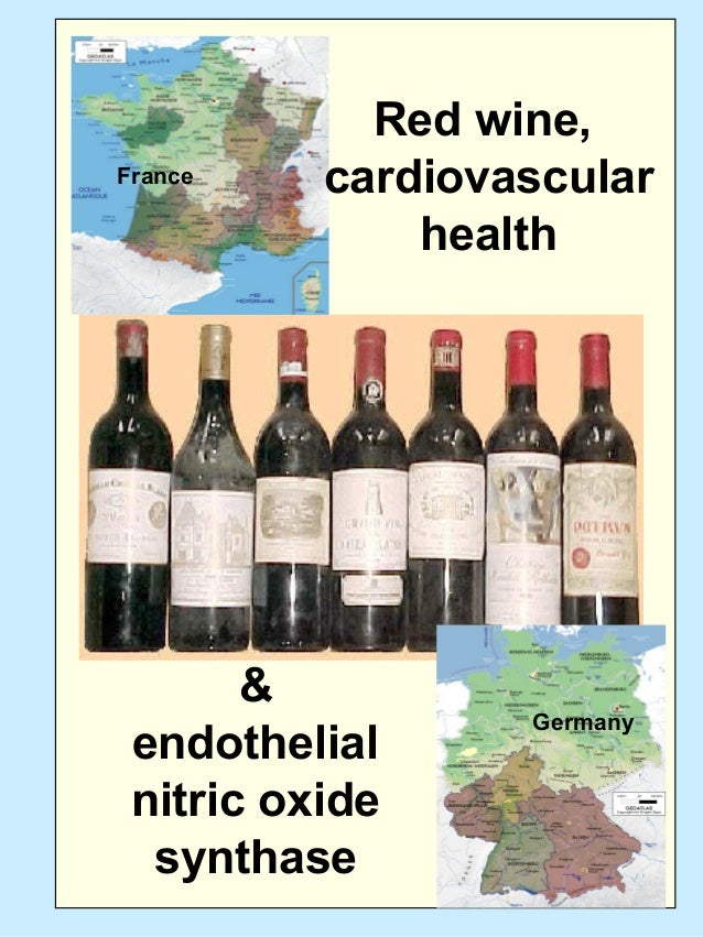 Germany France Red wine, cardiovascular health & endothelial nitric oxide synthase