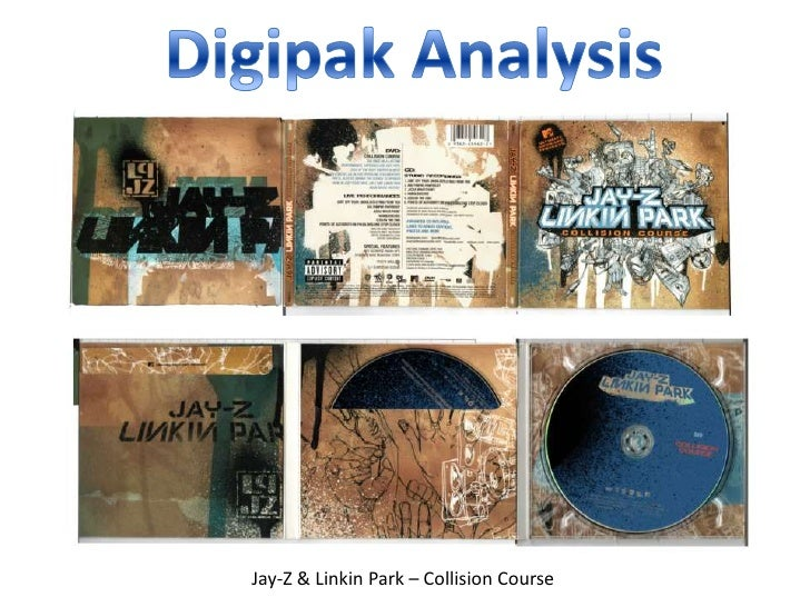 Digipak Analysis<br />Jay-Z & Linkin Park – Collision Course<br />