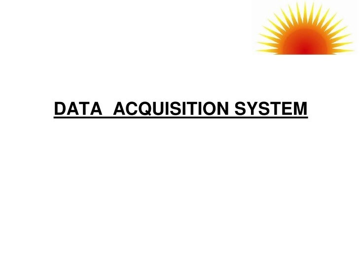 Data Acquisition System Icon : Data acquisition system logger