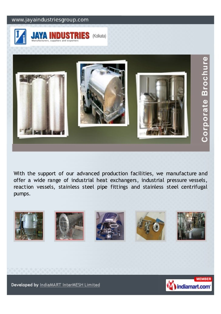 With the support of our advanced production facilities, we manufacture andoffer a wide range of industrial heat exchangers...