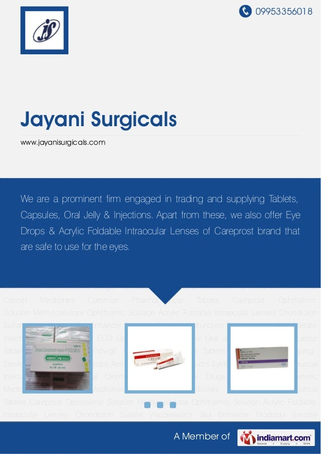 09953356018A Member ofJayani Surgicalswww.jayanisurgicals.comPharmaceutical Injectables Pharmaceutical Ointments Pharmaceu...