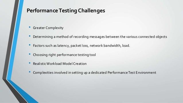 Performance Testing Internet of Things