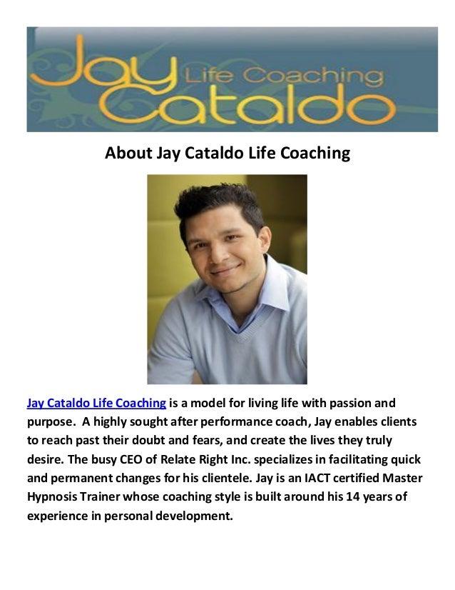 Jay Cataldo Life Coaching : NYC Life Coach
