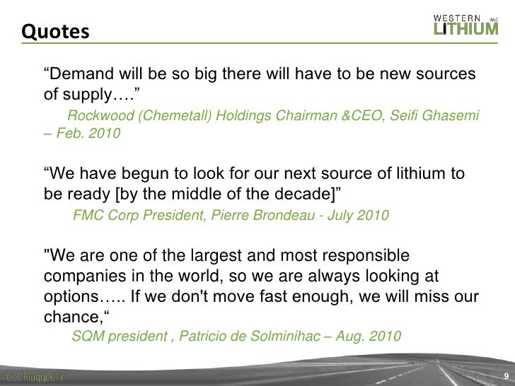 Jay Chmelauskas: Outlook for Lithium (Day 1 - Session 1: Strategic me…