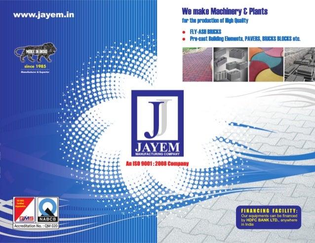 Jayem Manufacturing Co, Noida, Construction Equipment