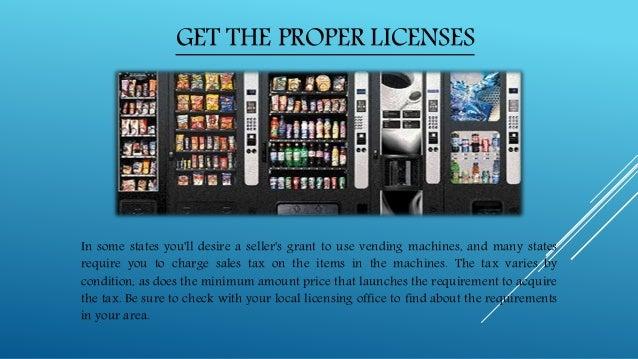 vending machine make money