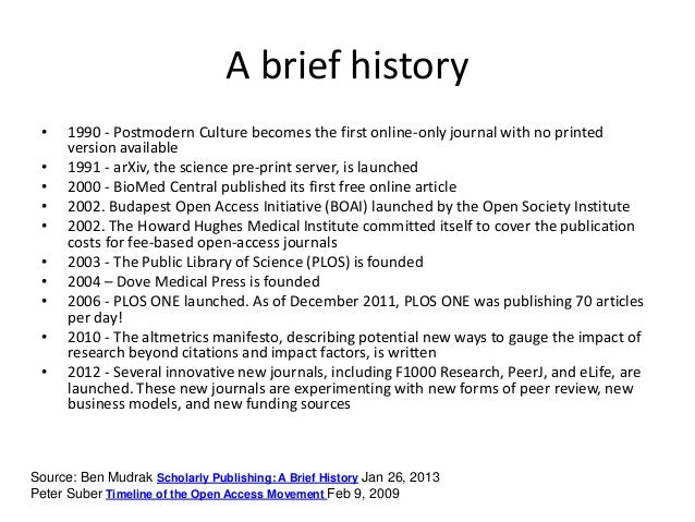 History Of Peer Review Nature