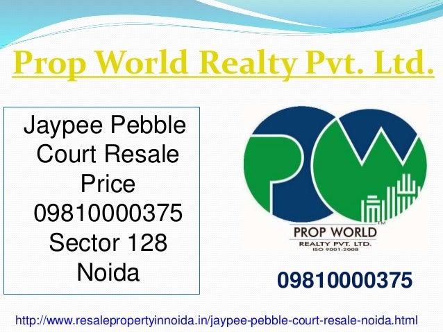 Jaypee pebble court resale price 09810000375 sector 128 noida for Best flooring for resale value