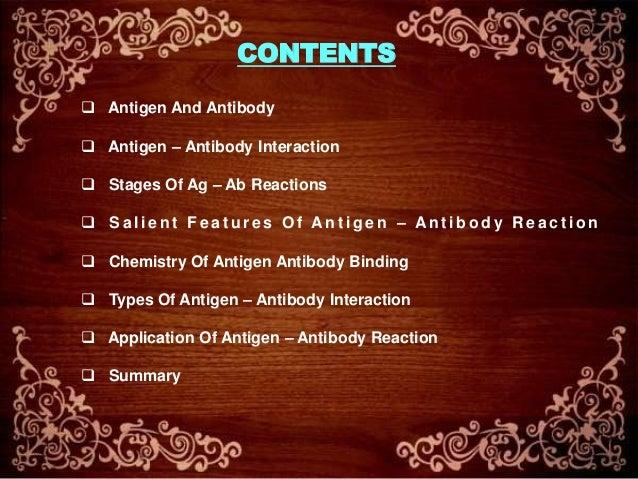 Antigen-Antibody Interactions Slide 2