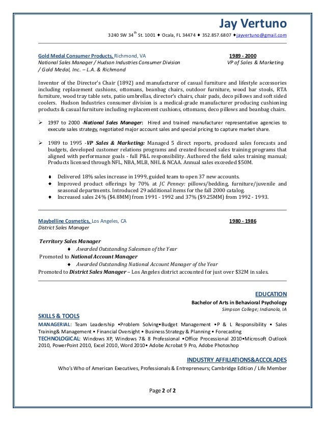 Holly Scott Resume Furniture Sales Resume Examples Google Search