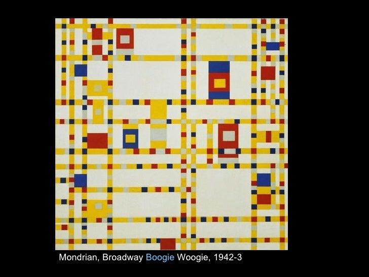 Mondrian, Broadway  Boogie  Woogie , 1942-3