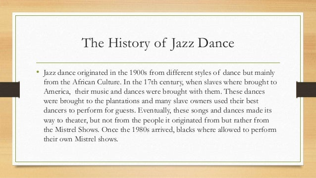 history of jazz vs history of Feeling the vibes: the short history of a long instrument jazz is the only genre of music that uses the vibes as a lead or improvisational instrument it's been a process in helping to save this.