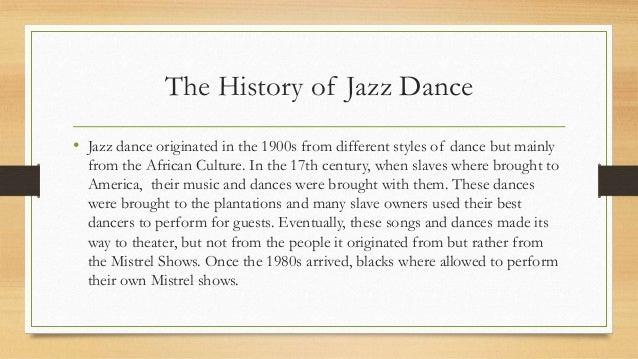jazz skating history