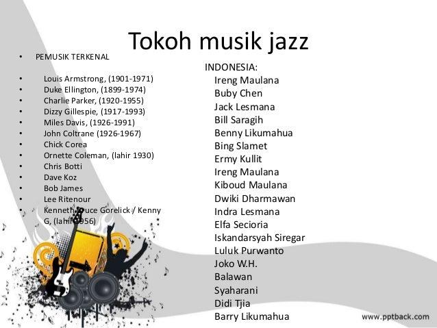 ppt musik jazz dan country
