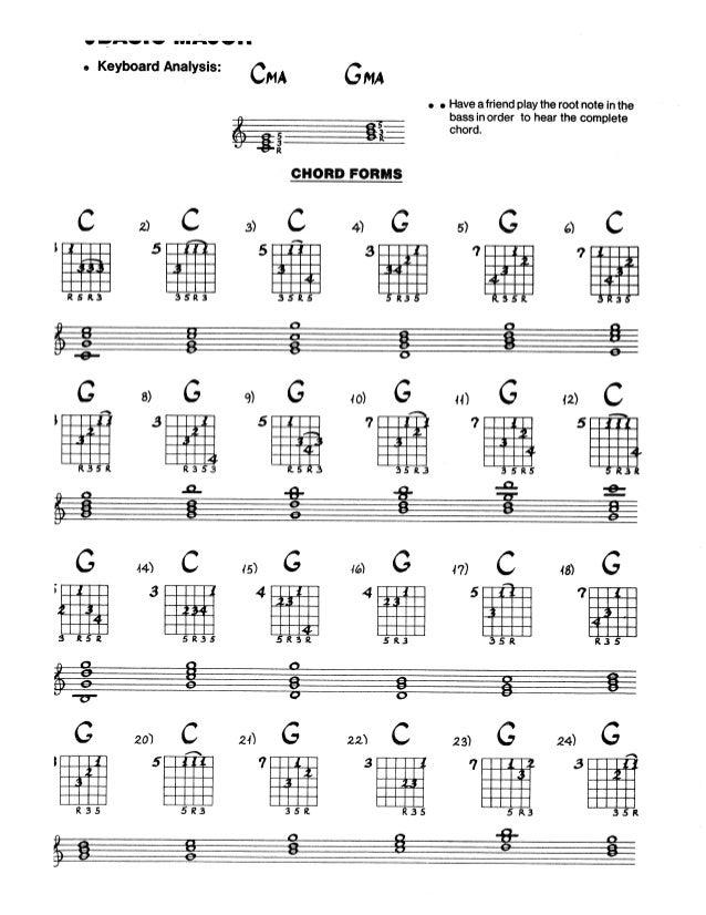 Jazz Guitar Chord Bible