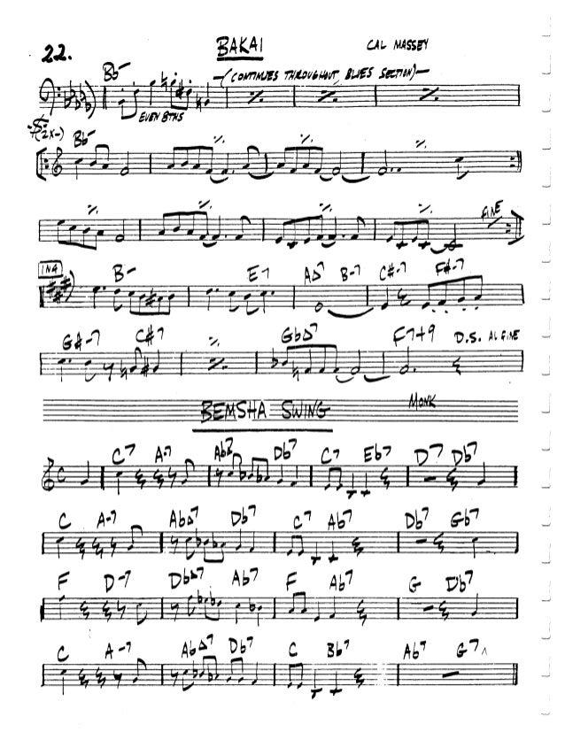 Jazz fake book pdf e-books