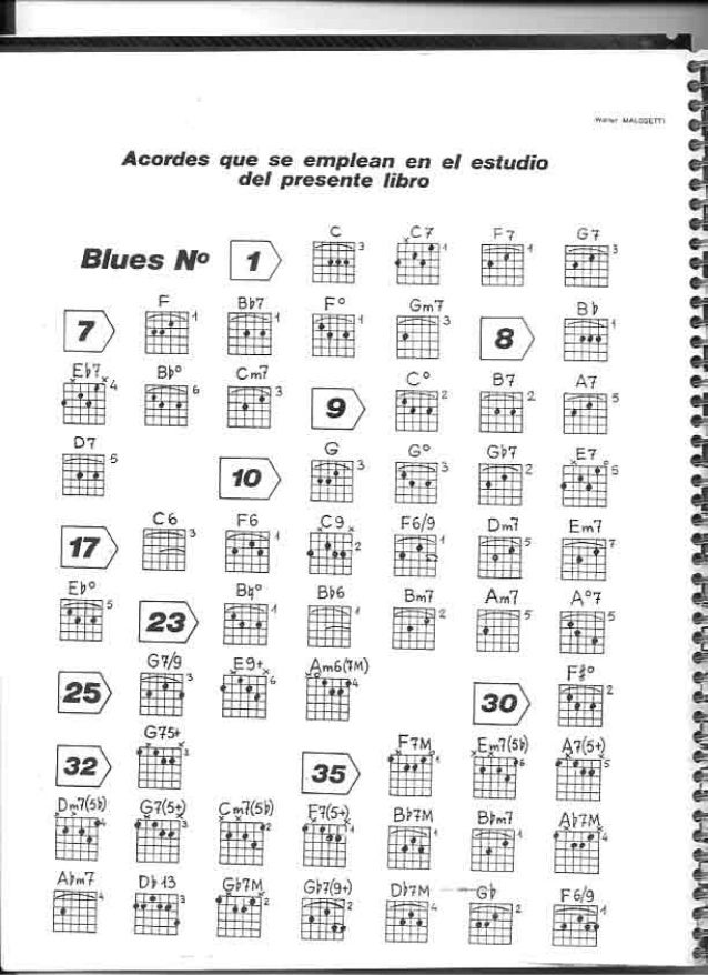 Jazz para guitarra walter malosetti (g170)