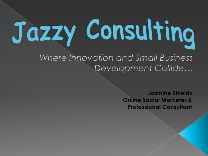 jazzy consulting client presentation template jazzy consultingwhere innovation and small business development collide