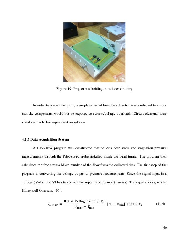 46 Figure 19: Project box holding transducer circuitry In order to protect the parts, a simple series of breadboard tests ...