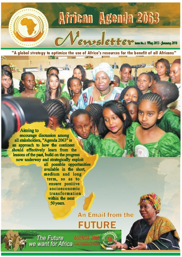 """""""A global strategy to optimize the use of Africa's resources for the benefit of all Africans"""""""