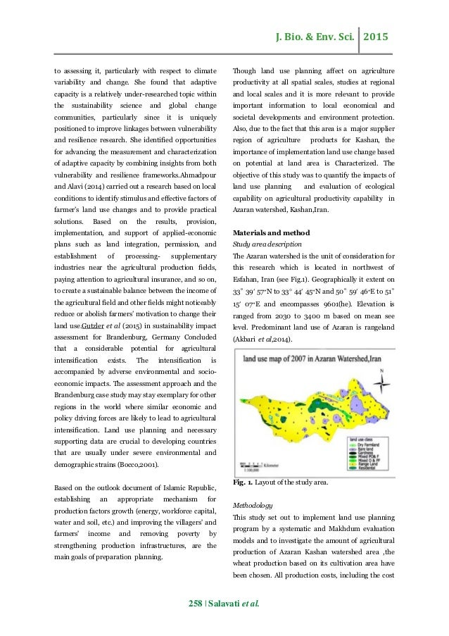 impact of land uses on productivity Title: potential impact of land use change on land productivity dynamics with  focus on land degradation in a sub-humid terrestrial ecosystem authors: dengiz .