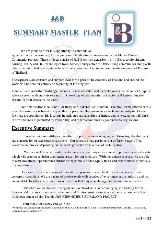property preservation business plan